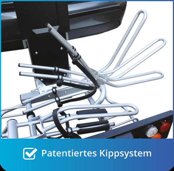 Patentiertes Kippsystem